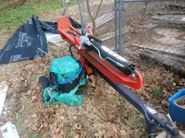 22tons log splitter works good low hours
