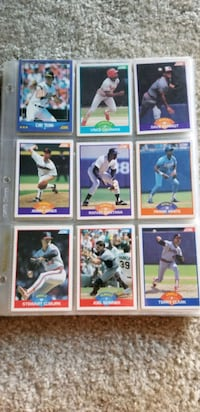 Assorted Score Baseball Cards Nottingham, 21236