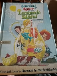 Something Queer At The Lemonade Stand book