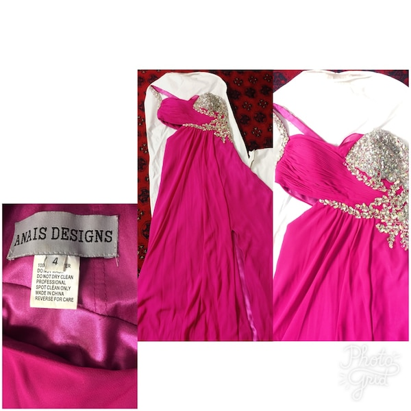 Size 4 excellent condition prom dreas