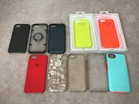 10 iPhone 7/8 cases, otter box, blackweb, philo, incipio, apple Mississauga, L5M 0G6