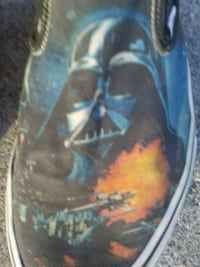 Star Wars Vans Shoes 9.5 San Francisco, 94102