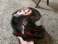 Shoei RF 1200 with transition face shield Tulsa, 74145