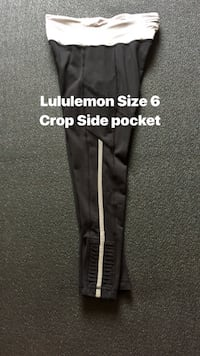 Lululemon crop  size 6 clean no issues pu mckinney  McKinney