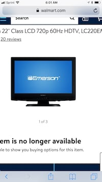 22 inch LCD HDTV 2xHDMi and PC Port Excellent TV Gaming Monitor  Fredericksburg, 22401