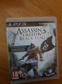 Assassin's Creed IV svart flagg sony ps3 spill tilfelle Oslo, 1166