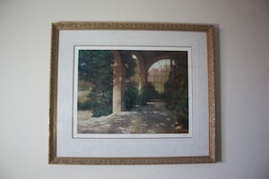 "Limited Edition Framed Print ""Palladian Sunroom"" Signed Philip Craig 37x31"""