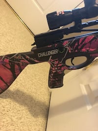 Black & pink camo cross bow. Has never been used... paid $550 asking $400 or BEST REASONABLE OFFER  Stanley, 22851