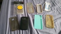 8 various phone cases, s6, iPhone 6, HtC one.