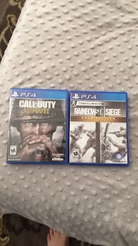 two Sony PS4 game cases Albuquerque, 87112