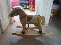 wooden ride on rocking horse Innisfil, L9S 0B8