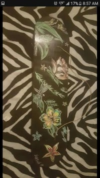 custom painted skateboard.