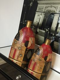 2 big decorations vases from Leon's  London, N6E 2S9
