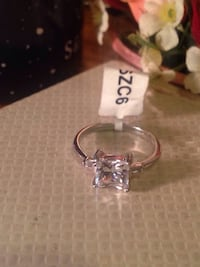 9.25 Silver Ring Size 7 3148 km