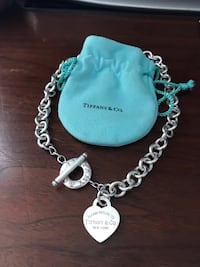 Return to Tiffany® Heart Tag Toggle Necklace Chicago
