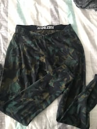 black and gray camouflage shorts Surrey