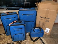 NEW IN BOX 4 piece luggage set! Very nice! Sioux Falls, 57103