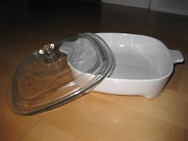 CorningWare Microwave Browner with Clear Lid
