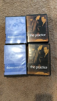 two cases of Thirtysomething discs and two disc cases of The practice Frederick, 21703