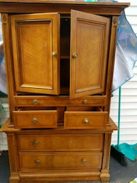 brown wooden cabinet with drawer Woodbridge, 22192