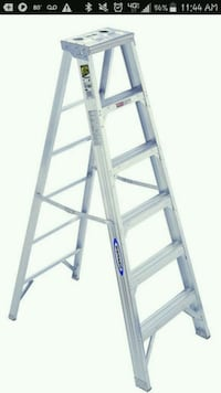 6 ft aluminum step ladder  Freeport, 61032