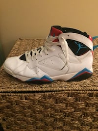 Red black and white air jordan size 13 wear only 2 times clean.