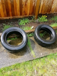 Two Firestone Tires