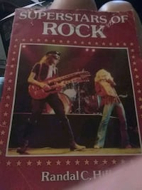 """Black and White """"Superstars of Rock"""" Book"""