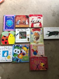 Lot of board books  Haymarket, 20169