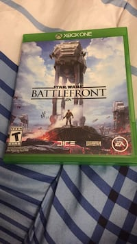 Xbox One Star Wars Battlefront with case Hummelstown, 17036