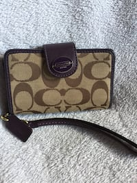 Coach cell phone wallet / wristlette Winnipeg
