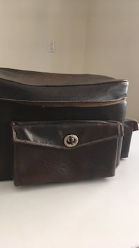 Vintage leather camera bag Toronto, M8Y 1B8