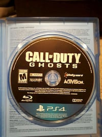 Call of Duty: Ghosts PS4 Spruce Grove, T7X 0A6