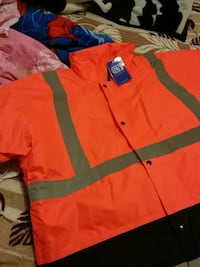 Work coat bo, hi vis
