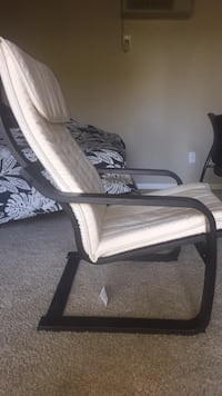 white and black floral padded armchair San Diego, 92119