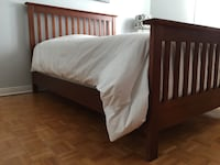 Double bed frame (mattress not included) Montréal, H1C 2A3