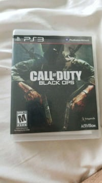 Call of Duty Black Ops PS3 game case Amsterdam, 12010