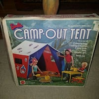 Vintage barbie camp out tent  Virginia Beach, 23455