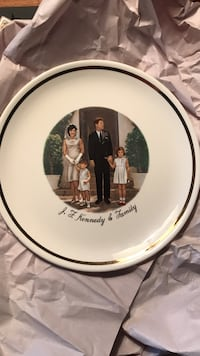 JF Kennedy & Family Plate Athens, 12015