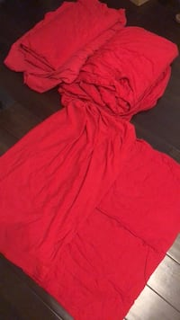 Red Sheets for Twin Size Beds South Gate, 90280