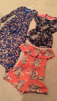 3x40.00 Romper Shorts like NEW! Port Coquitlam, V3B