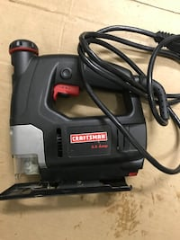 Craftsman 3.5 Amp corded scroller saw. Rarely used. Like new. Sterling, 20164
