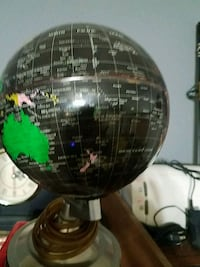 Small lighted up globe