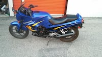 blue and black Kawasaki sports bike Saginaw, 48602