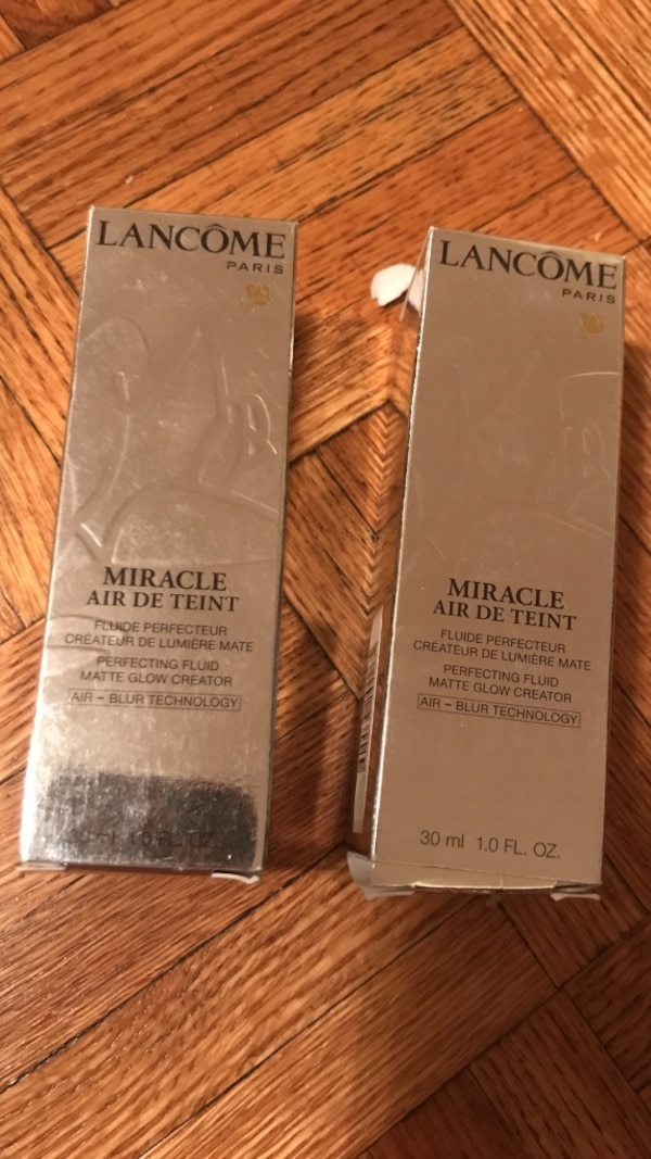 Two lancome miracle air de teint foundation