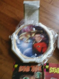 Captain Kirk collectible plate New Market, 21774