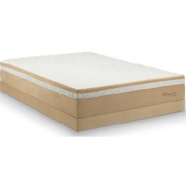 huge discount dfbbe 0fda0 TEMPURPEDIC king size memory foam mattress with box springs,frame EASY TO  MOVE