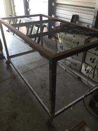 Fabricator's table with wheels, perfect for large  Fort Mill, 29715