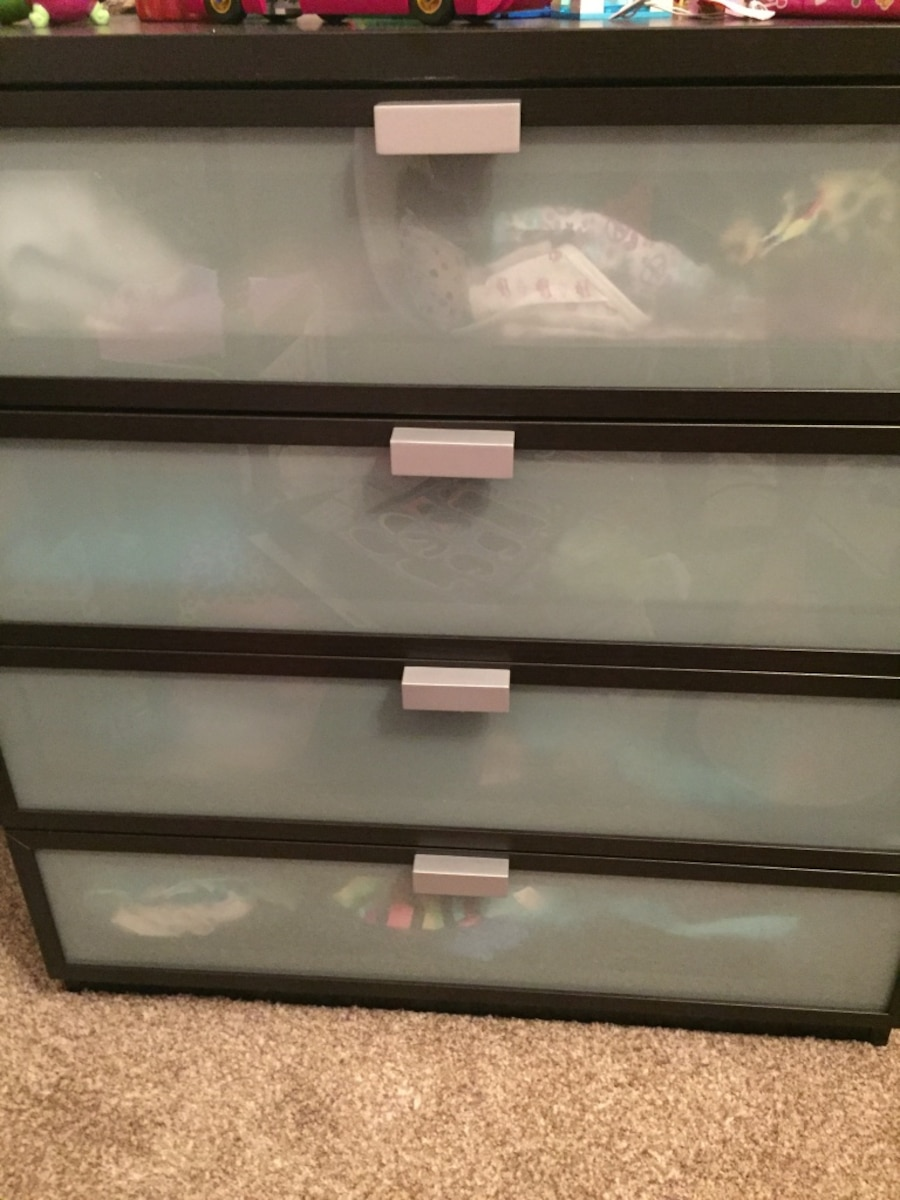 Frosted Glass Dresser Brand New  Sold. IKEA Frosted Glass Dresser Brand New in Olathe   letgo