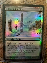 Thrumming Stone (Foil/Mint) Reading, 19606